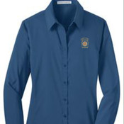 Port Authority Ladies Stretch Poplin Shirt.