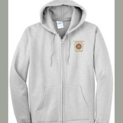 Port & Company® Tall Essential Fleece Full-Zip Hooded Sweatshirt