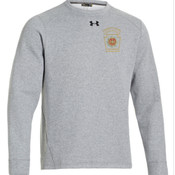 UA TEAM RIVAL FLEECE CREW