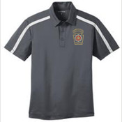 Port Authority Performance Colorblock Stripe Polo
