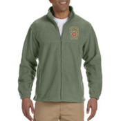 Harriton Men's Full-Zip Fleece