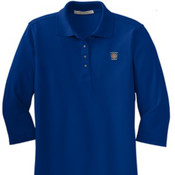 Port Authority Ladies Silk Touch 3/4-Sleeve Polo